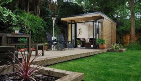 Harrison james the elite london for Modern garden rooms london