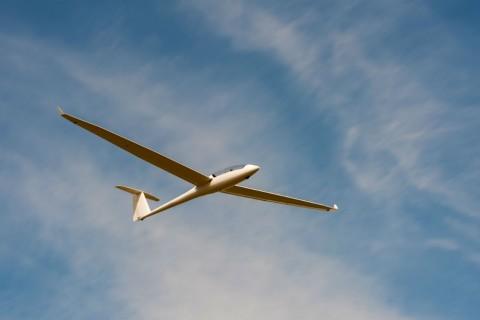 Gliding pleasure flight