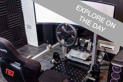 Racing simulators experience