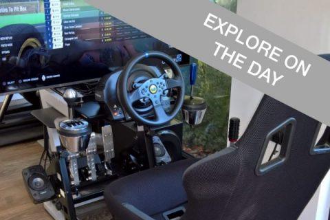 Racing simulator experience